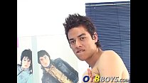 Solo latino twink Janiro with a big dick loves to masturbate