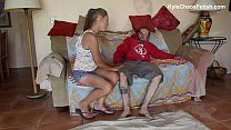 Hypersexual Stripper Mother Teases and Wrestles Son - 9Club.Top