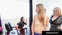 Young Hot Kimber Lee Gets Spanked By Principal Ms. Sara Jay!