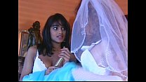 Wedding Night Threesome - download porn videos