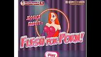Busty Jessica Rabbit Flesh For Porn Strip game.11DeadFace's Thumb