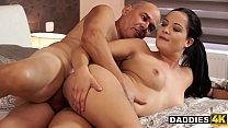 Surprised Bald Daddy Uses Opportunity To Fuck Son's Amazing Girlfriend thumbnail
