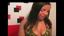 Stunning Latina Nude On Webcam T90