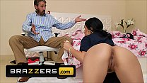 (Steve Holmes) fucks anal his rambunctious stepdaughter (Vanessa Sky) - Brazzers