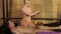 Masseuse blows fat cock porn thumbnail