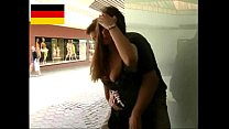 German Teen fucks in the public's Thumb