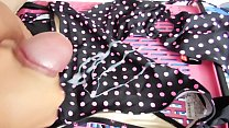 Cum all over this Sexy Polka Dot Bikini