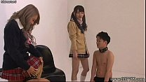 Japanese Femdom Face Trample and Humiliation pornhub video