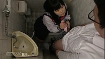 innocent school girl gives blowjobs and hand jobs for extra credit: porn swat thumbnail