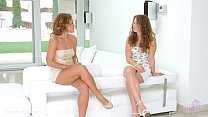 Pre party surprise by Sapphic Erotica - sensual erotic lesbian porn with Sylvia