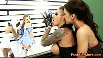 Alice and the White Rabbit Eat Each other Out - FuckStarMovs.com