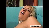 Horny blonde and a big cock enjoying hot anal sex SB-4-04