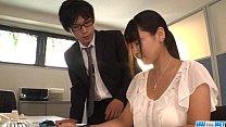 Yu Shinohara nasty porn play at the office thumbnail
