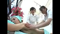 Japanese Massage Lesbian Threesome