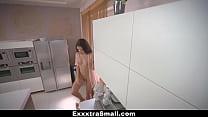 ExxxtraSmall - Hot Petite Girl Fucked In Kitchen Vorschaubild