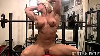 Female Bodybuilder Lisa Cross Naked Workout video