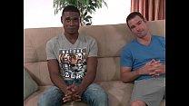 Str8 black guy and white guy have 1st time gay sex Vorschaubild