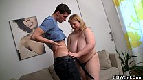 6591 Fat girl skinny guy with big cock preview
