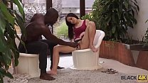 BLACK4K. Awesome interracial sex in the gym whe...