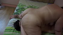Girlfriend licked my holes and fucked my anal, lesbians love facesitting, anulingus and cunnilingus. thumbnail