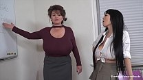 Milena Velba (feat Hitomi Tanaka & Okita Anri) - Lesbian BigTits - download porn videos