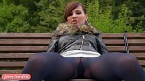 Jeny Smith black pantyhose pretend to be leggings