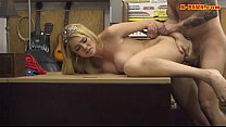 (jav bbw) ◦ Busty blonde babe drilled by pawn keeper at the pawnshop thumbnail