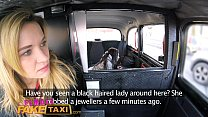 Female Fake Taxi Pretty brunette has 1st lesbian orgasm with strap-on cock - download porn videos
