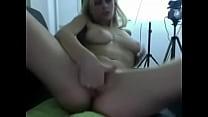 Blonde and Brunette kissing teasing webcam chat videochat