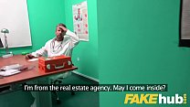 Fake Hospital Sexy Czech estate agent loves sucking and fucking docs cock thumbnail