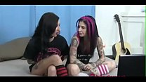 Two Slutty Emo Girls Get Nasty On Webcam - more at JuicyCam.net - download porn videos