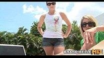 Poolside Cock Play Brandi Belle thumbnail