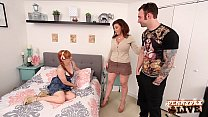 Sexy Penny Pax & her BF Fuck Sara Jay  her AirBnB! - 9Club.Top