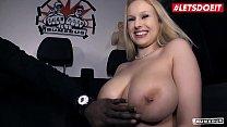 LETSDOEIT - Busty German Blondie Angel Wicky Gi...