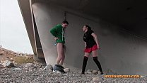 Ballbusting: VEGAS OR BALLBUST (Nyssa Nevers and Andrea Diprè)