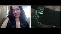 White chick blows it on webcam 666CAMS.ORG Thumbnail