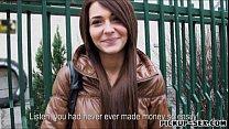 Petite amateur Czech girl Alexis Brill banged f...