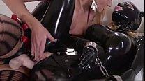 Latex slave lesbian punishment P2 - myfuckingwebcam.com