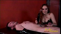 Slutty Mistress Gemini enjoys pleasuring a dude's throbbing meat pole
