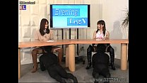 MLDO-088 Delusional leg & boots news station. Mistress Land