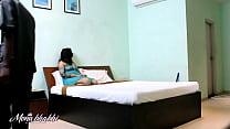 Indian Mona Bhabhi Teasing Room Server Cleaner Boy Preview