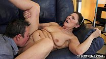Cock-hungry GILF Margo and her newest boy toy pornhub video