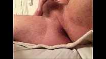 Me really horny fingering my ass then cumming on my stomach
