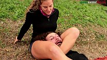 The Voyeur Ep1 Part 1- Headscissor Outdoor thumbnail