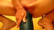 Incredible size dildo