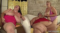 Pizza That Ass ⁃ Fat and horny bbws amazon darjeeling, apple bomb, lady lynn and sweet cheeks har thumbnail