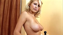 Shy Busty Blond Teen first time porn audition. ...