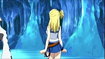 Lucy Heartfilia gets fucked by 2 monsters pornhub video