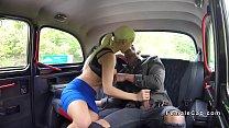 Blonde cab driver gets huge cock pornhub video