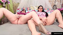 Thick Ladies Marcy Diamond And Angelina Castro